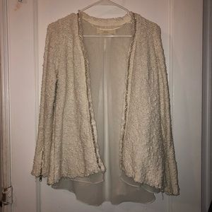 ZARA Knit Cream Sweater (S)